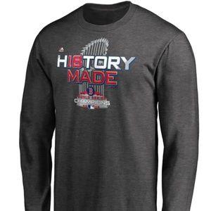 Boston Red Sox MLB World Series LS Locker Rm Shirt